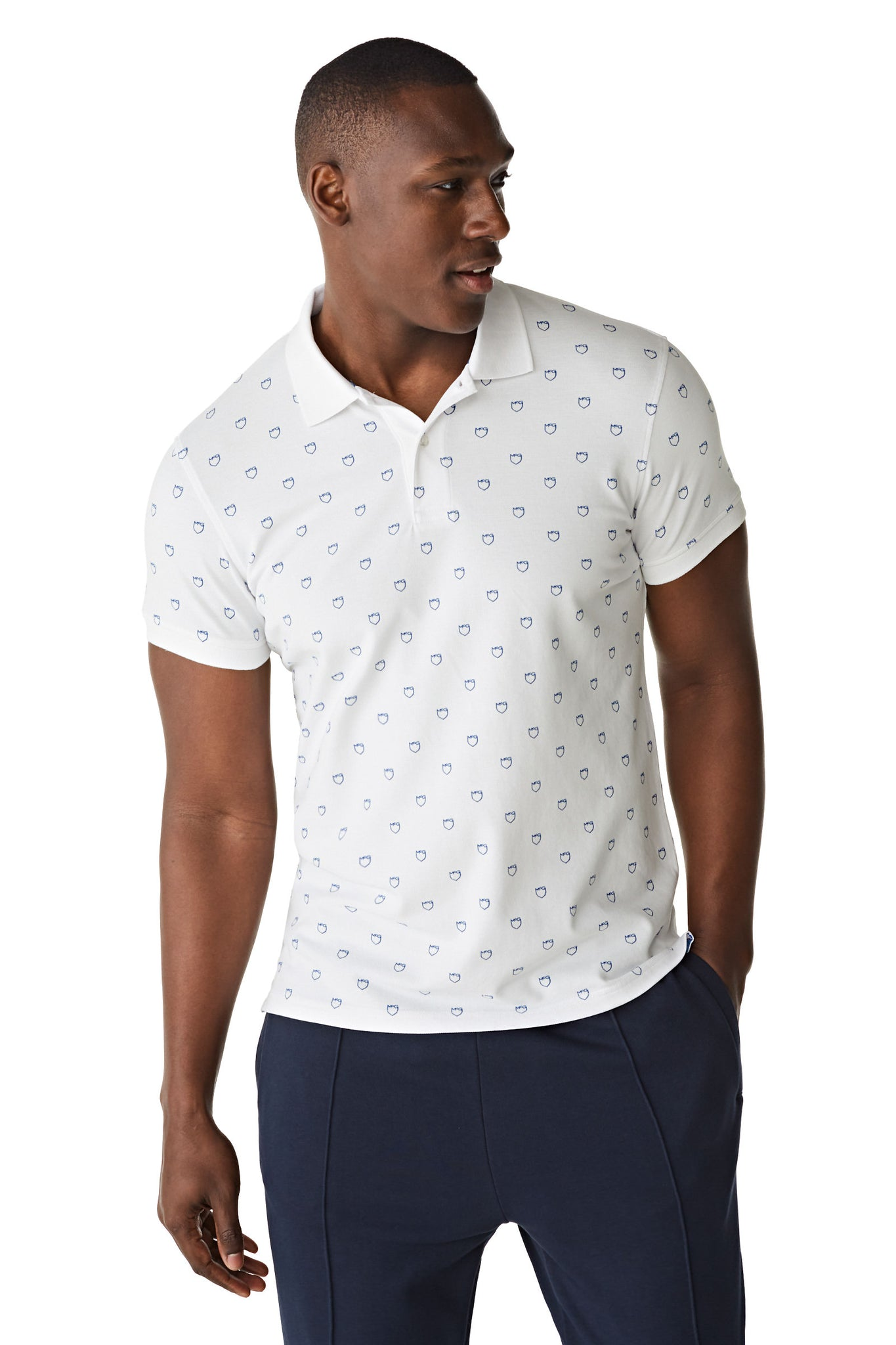 The McG RF Printed Shield Polo S/s
