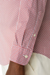 McG Regular fit shirt with red dots pattern
