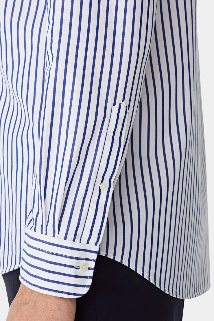Regular fit striped shirt
