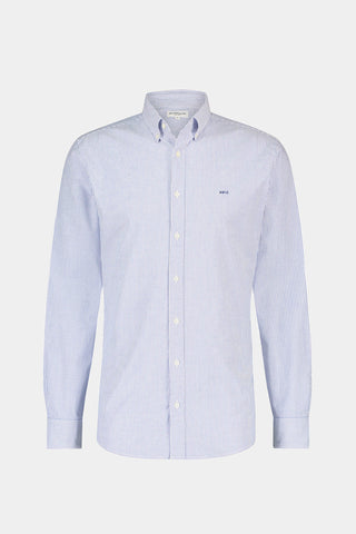Regular Fit striped Oxford shirt stretch