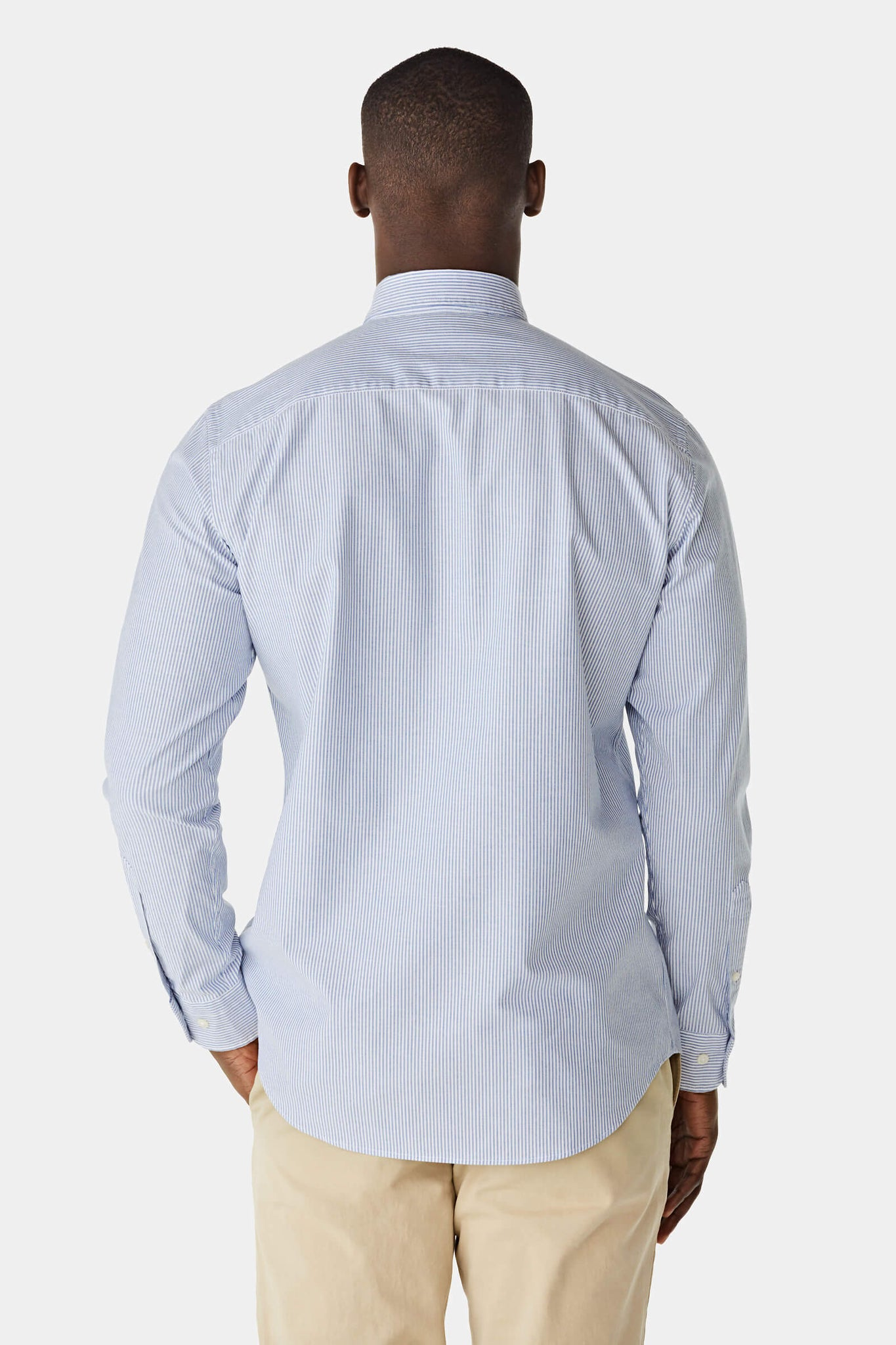 McG Regular Fit striped Oxford shirt stretch