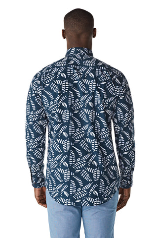 McG Regular fit shirt with palm print