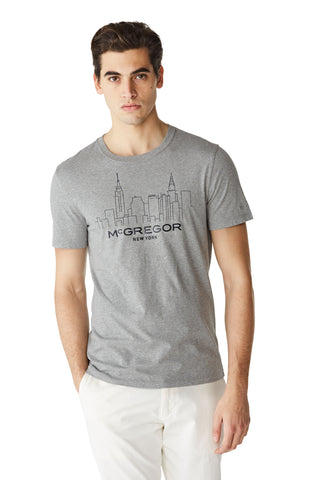 McG Regular fit T-shirt with New York Skyline