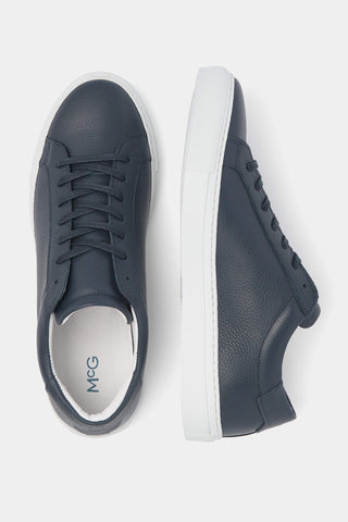 The McG Blue Leather Sneakers