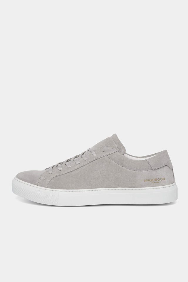 Light Gray suede sneakers