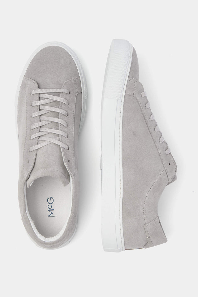 The McG Grey Suede Sneakers