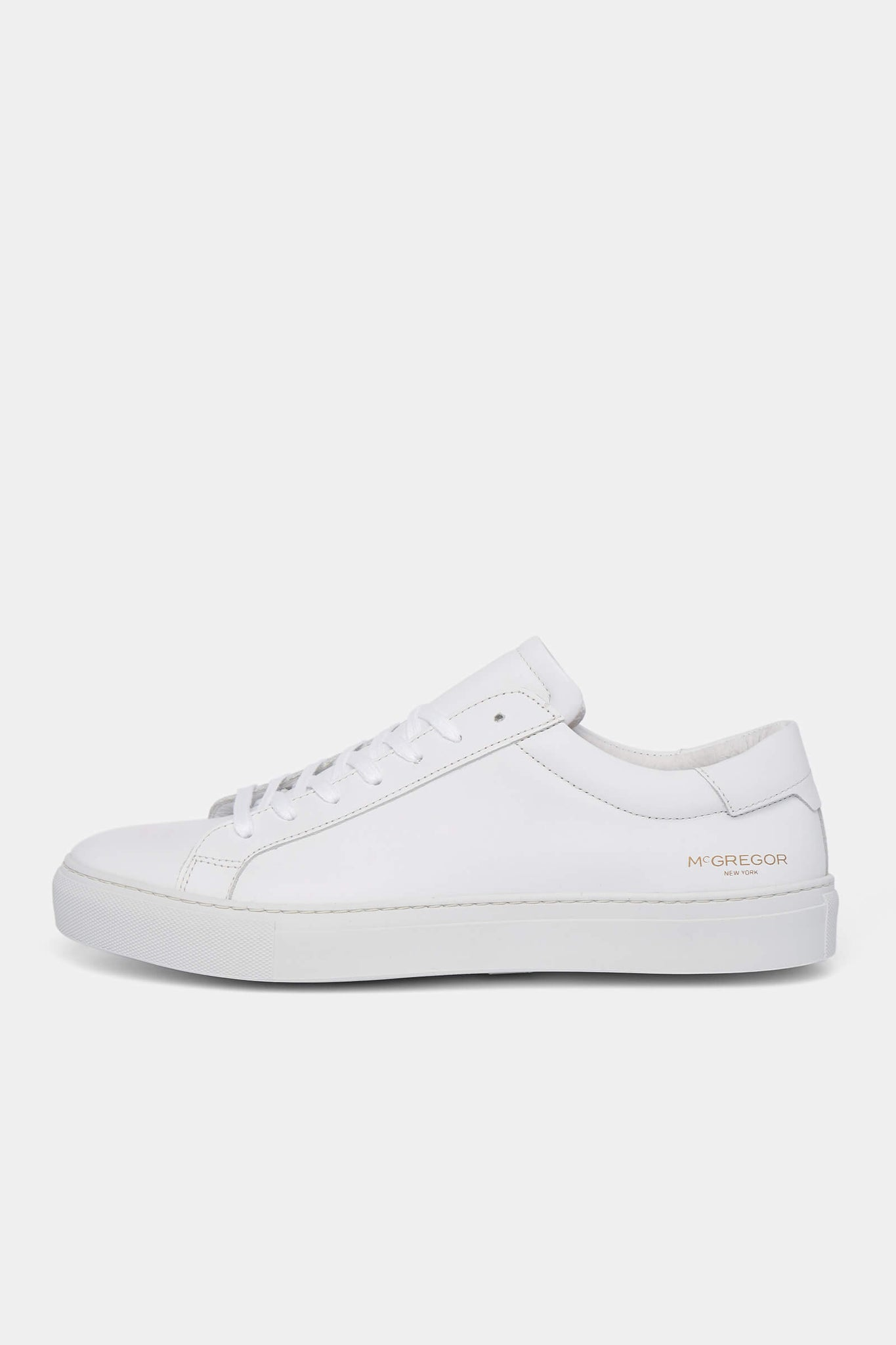 The McG White Leather Sneakers