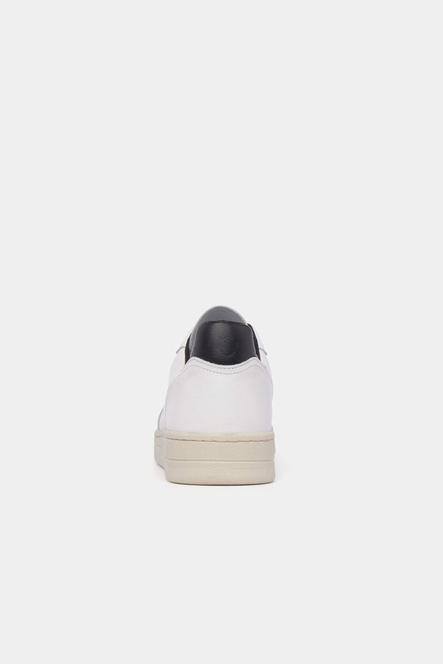 McG White leather sneakers with chunky soles