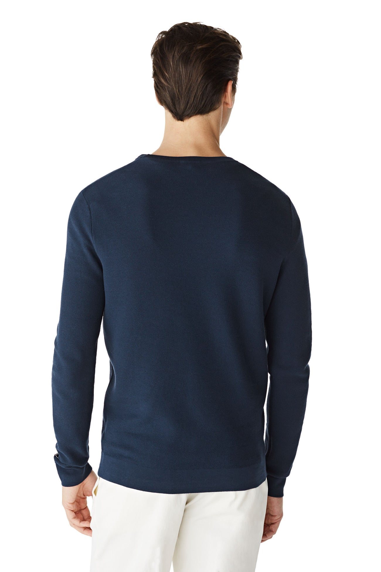 McG Crew neck sweater with fine structure
