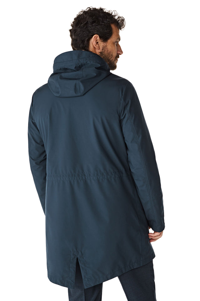 McG Waterproof parka with tape details