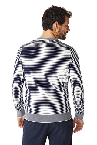 McG Crew neck sweater and vintage stripes