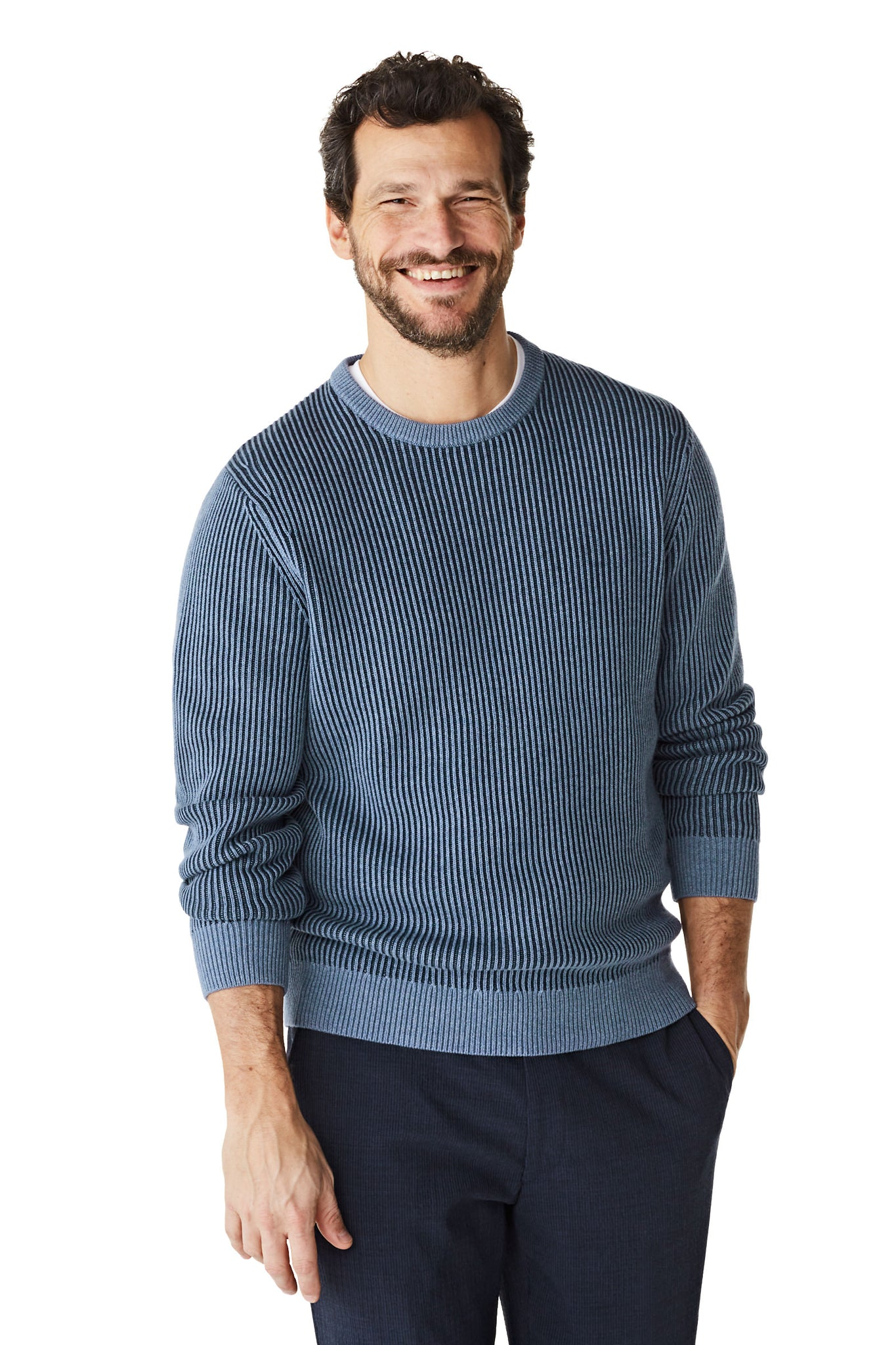 McG Chunky knit crewneck sweater cotton