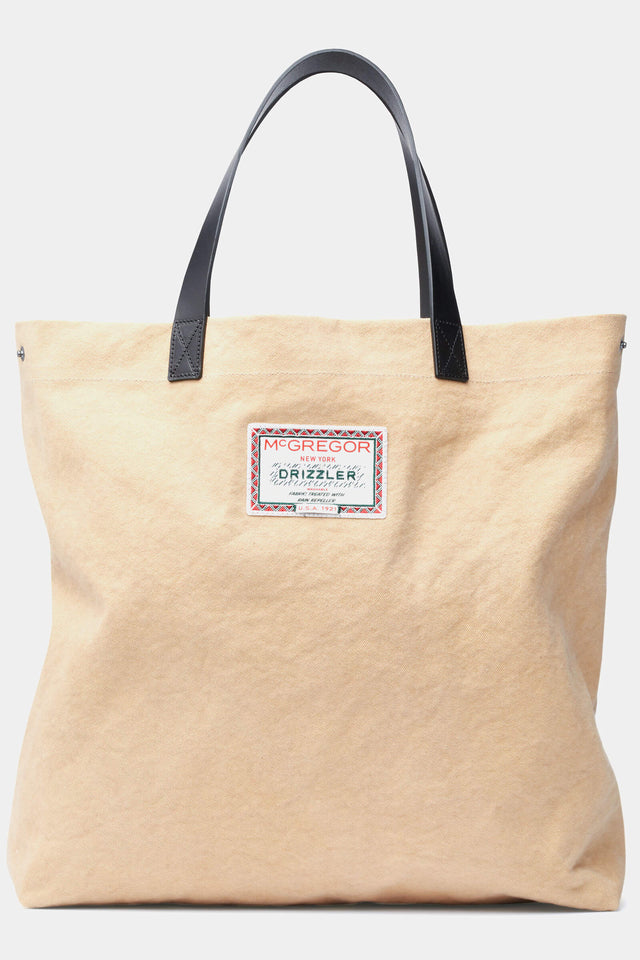 McG Tote bag from sturdy canvas and leather handles