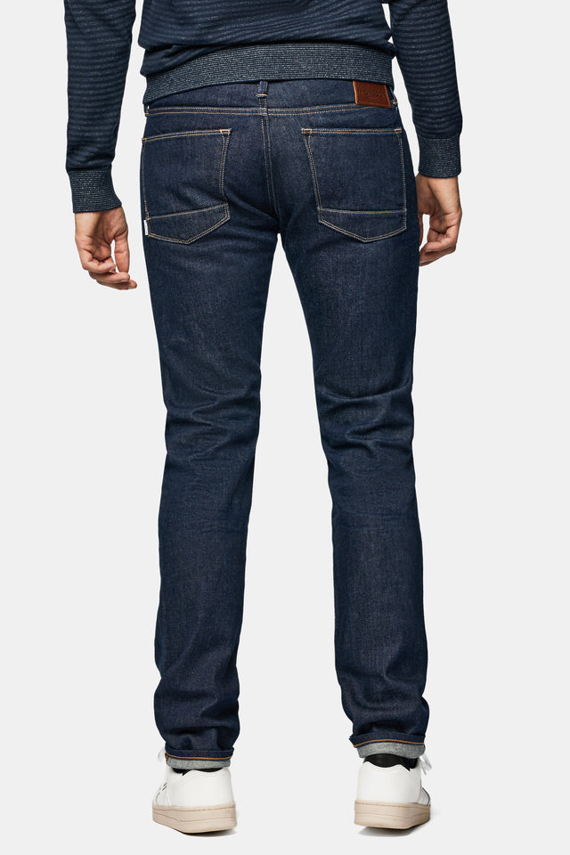 Slim fit jeans in rinse wash