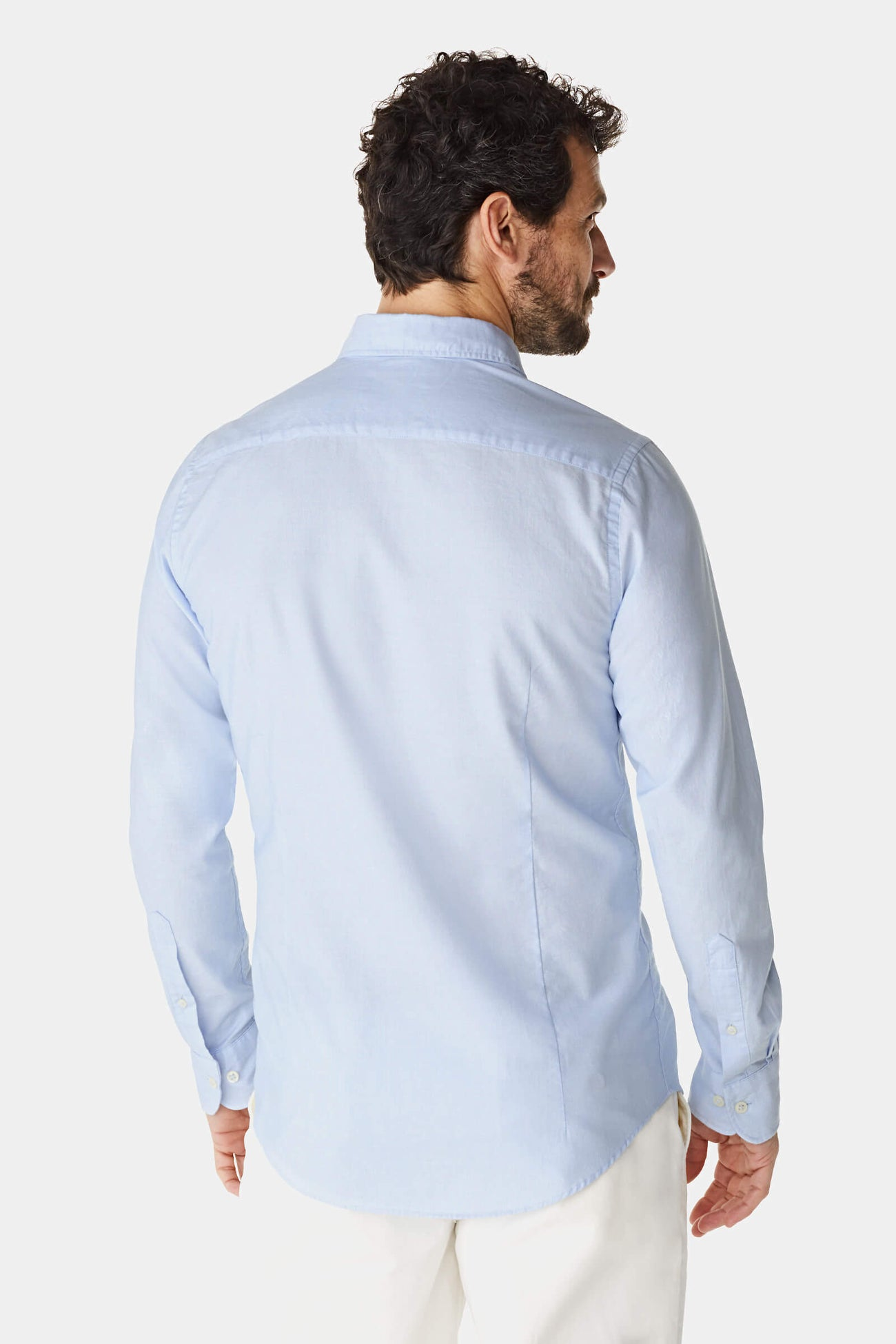 Slim fit Dobby shirt