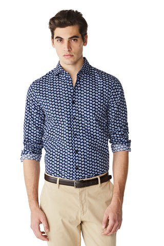 McG slim fit shirt with floral print