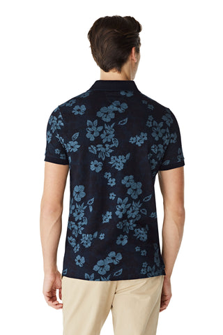 The McGregor SF Indigo Flower Polo S/s