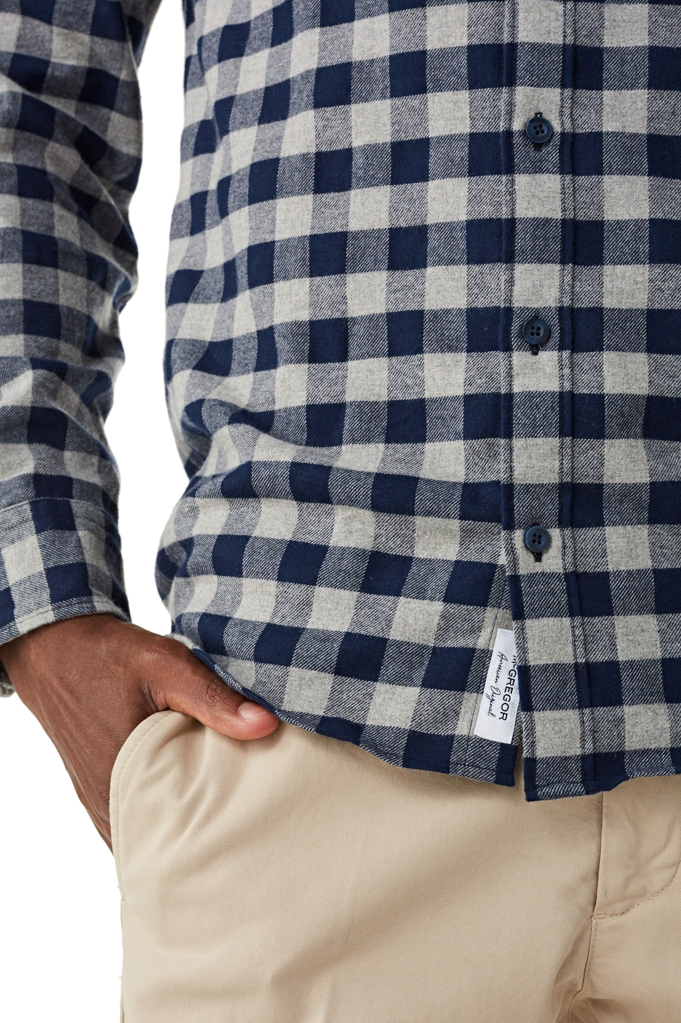 Shirt in Thermal Check Regular Fit