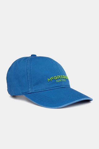 Adjustable twill cap with logo