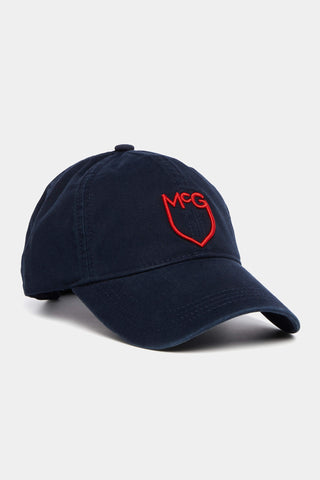 Twill cap with McG shield logo