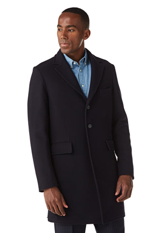 Unlined Wool Coat