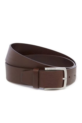 Classic Brown Leather Belt