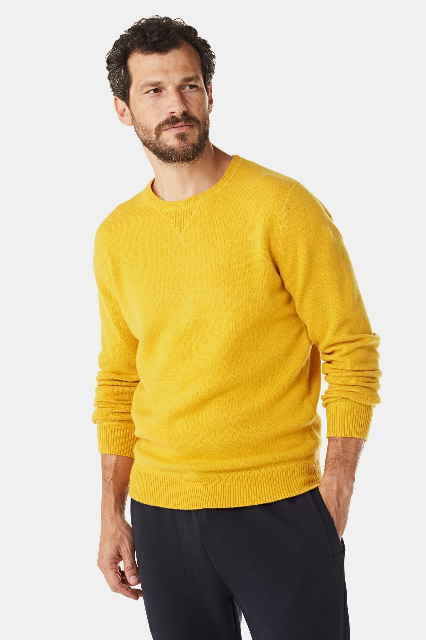 Sweater in Wool Nylon mix
