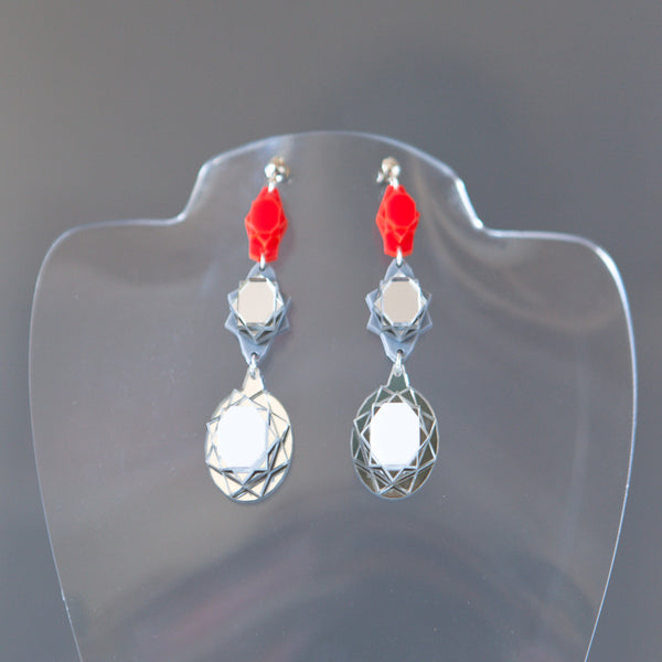 Vectory Oval RSW Earrings