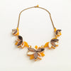 VITAL LOTUS BRONZE NECKLACE