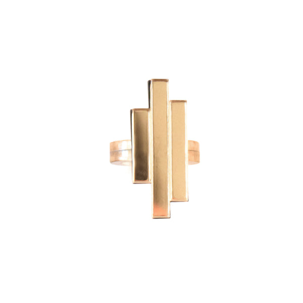 NEXUS GOLD RING