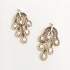 VITAL RAINDROP BRONZE EARRINGS