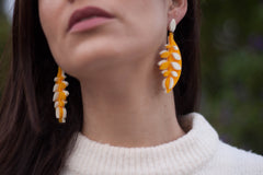 VITAL CALATHEA MANGO EARRINGS