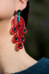 VITAL RAINDROP RUBY EARRINGS