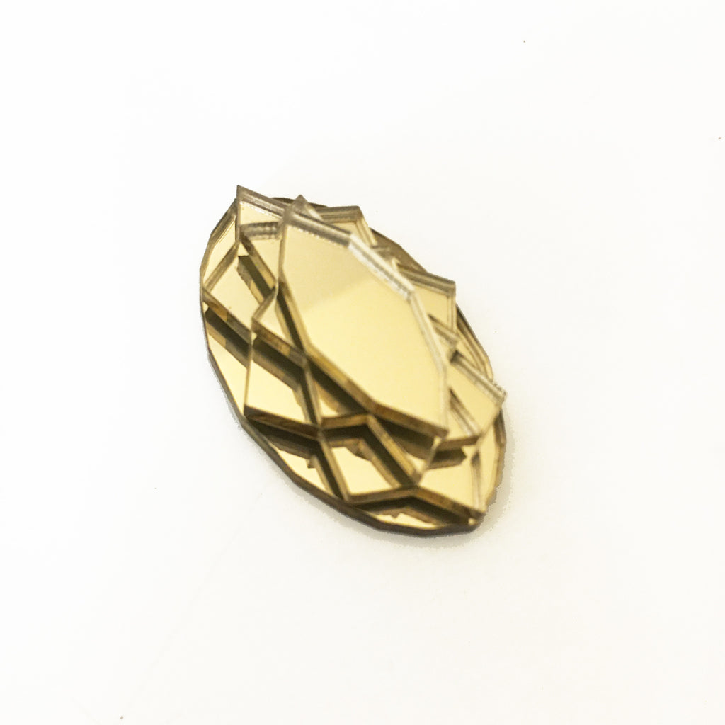 VECTORY NAVETTE GOLD RING