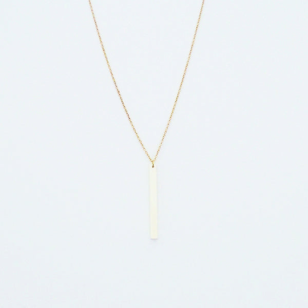IVORY RECTANGLE NECKLACE