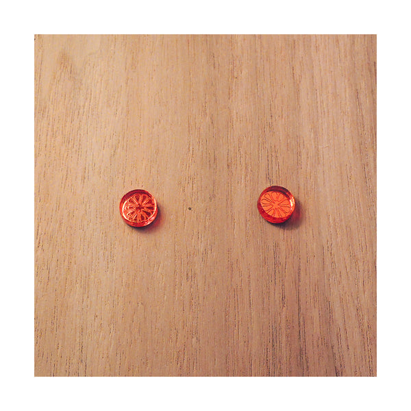 PULPY ORANGE CITRON EARRINGS