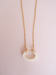 Ivory Small Arch necklace