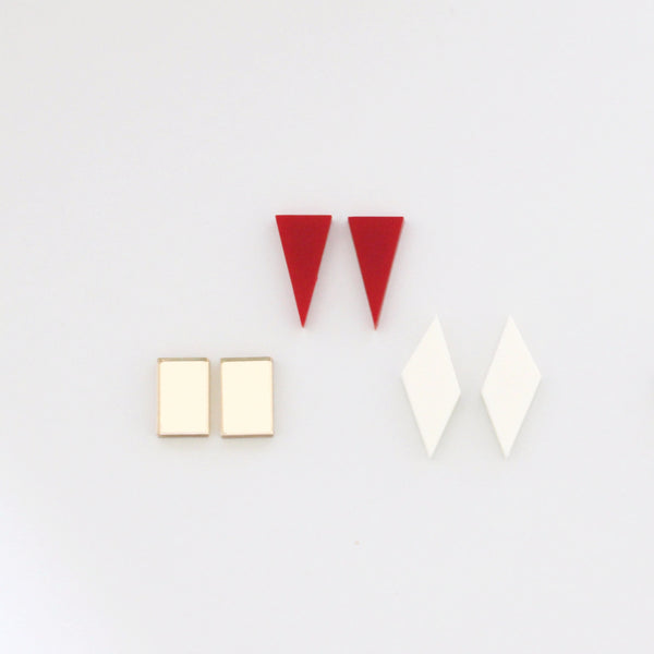 GEOMETRIC RGI EARRINGS PACK