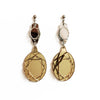 VECTORY OVAL MG MID EARRINGS