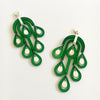 VITAL RAINDROP EMERALD EARRINGS