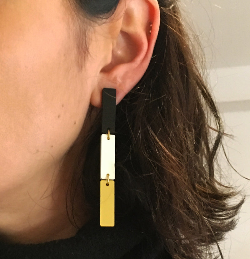 BARS BIGM EARRINGS