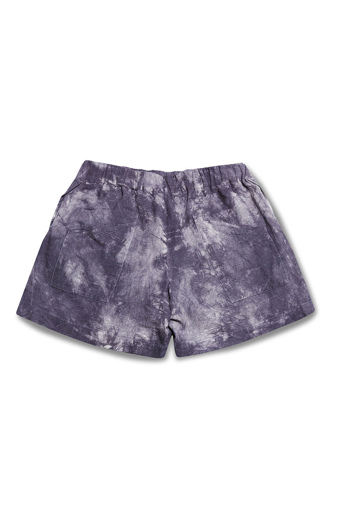 Selfish Tie Dyed Short w/ Slits