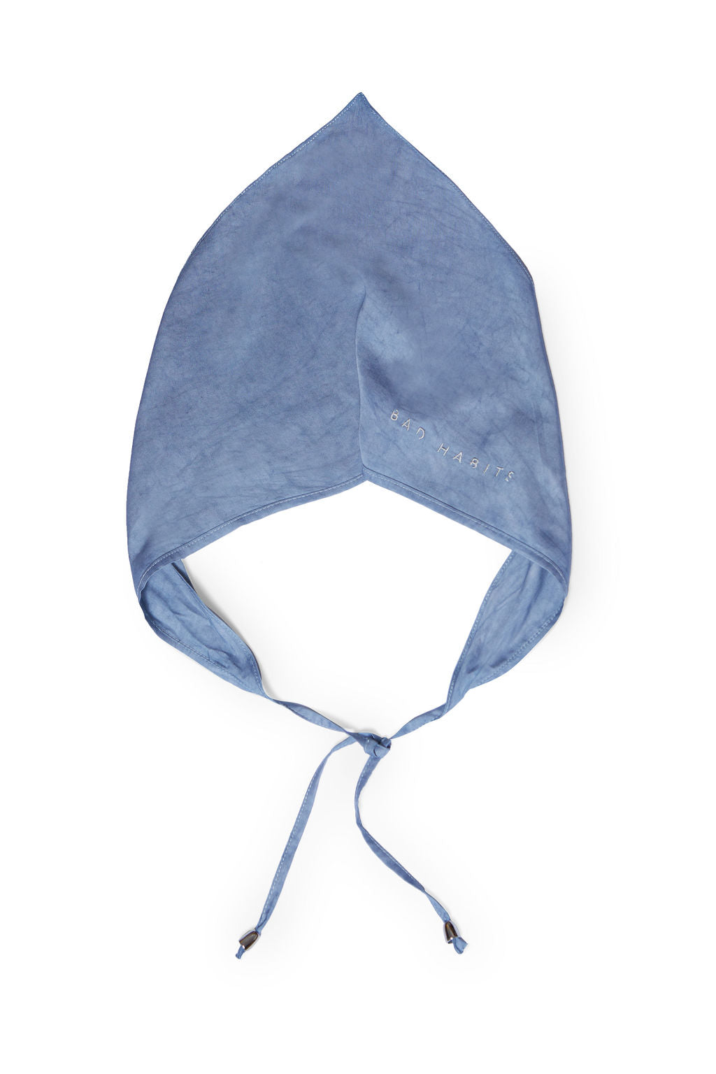 Blue Tides Dyed Head Scarf