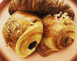 Chocolate Hazelnut Croissants