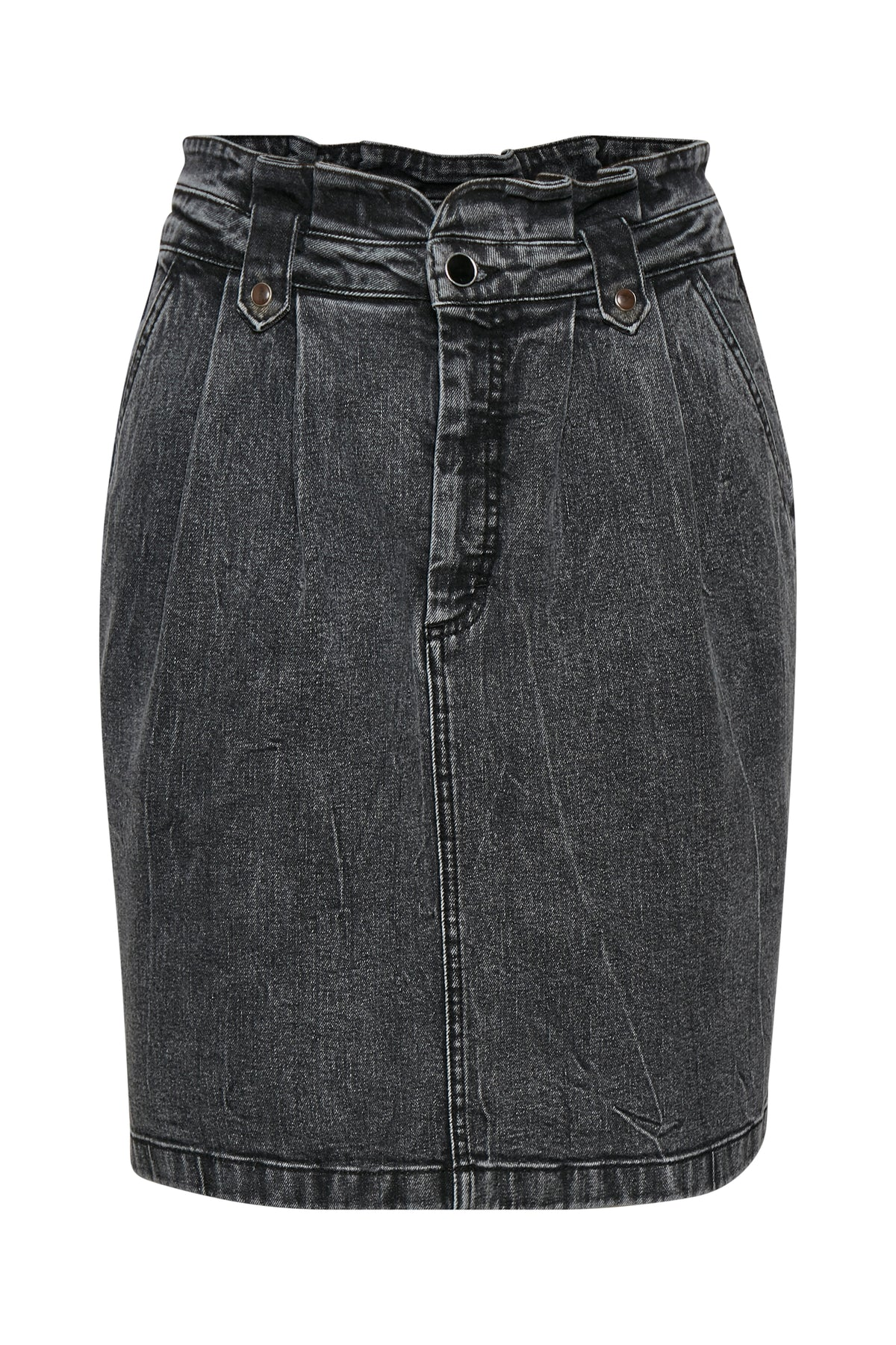 Aviline Denim Skirt Medium Grey