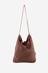 Baya Linen Shopper Chestnut