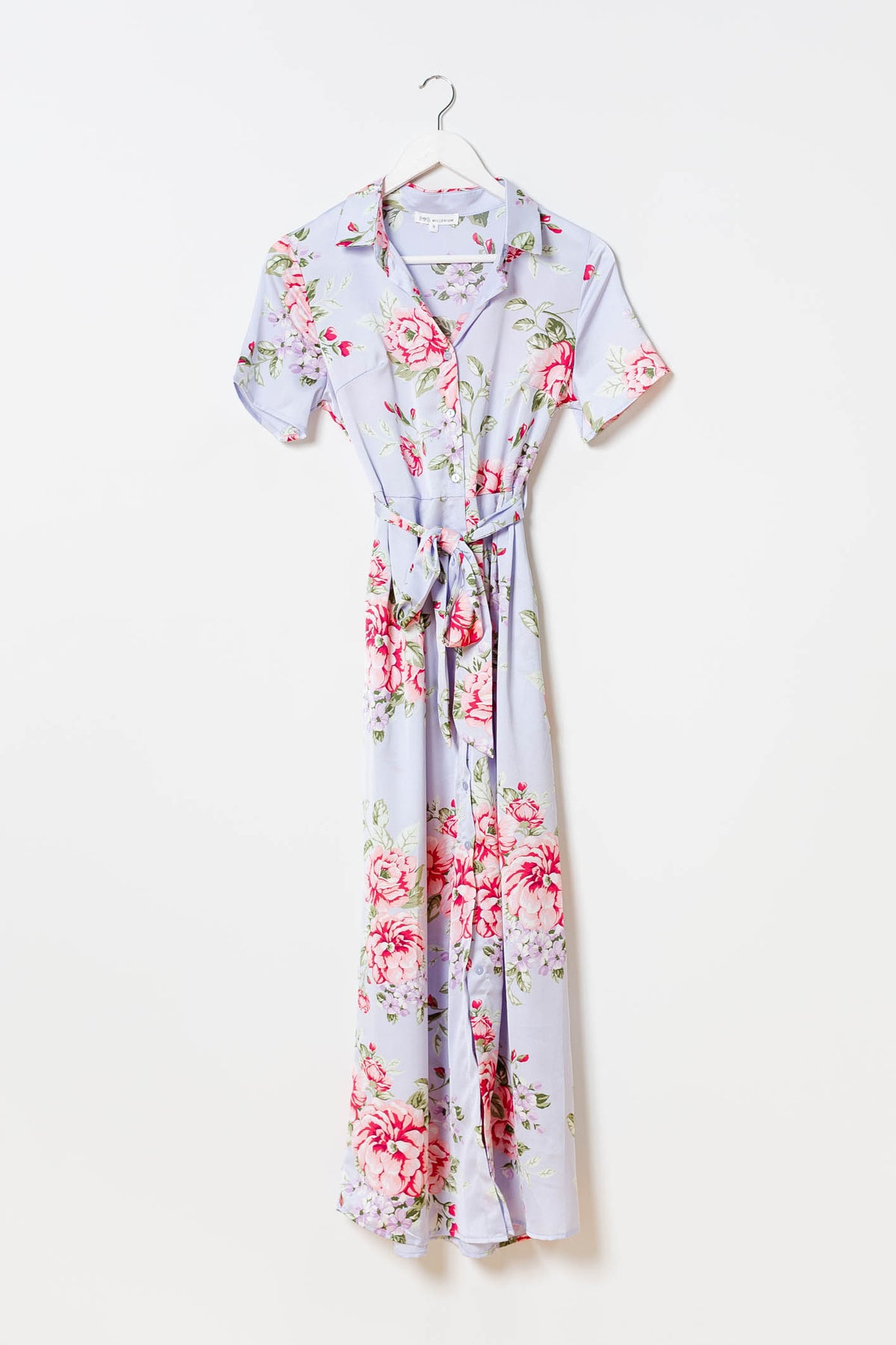 Camille Lavender Shirtdress