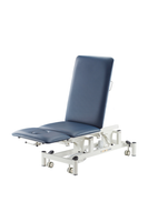 Electric Physiotherapy Exam Table / Chair (Electric Hi-Lo, Gas Strut Back Rest & Leg) Foot switch operation, 3 Sections