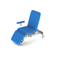 Fully Electric Examination Table / Chair (Electric Hi-Lo, Electric Back Rest & Legs) Lifetime Frame Warranty, 3 Sections