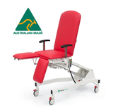 Fully Electric Podiatry / Multipurpose Chair (Electric Hi-Lo, Back Rest & Both Legs) Australian Made, Lifetime Frame Warranty